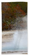 Yellowstone Geyser Bath Towel