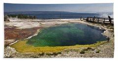 Yellowstone Lake Hand Towel