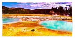 Yellowstone National Park Hand Towel