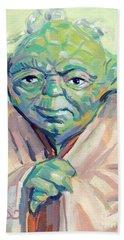 Yoda Hand Towel