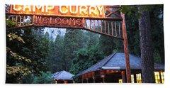 Yosemite Curry Village Hand Towel