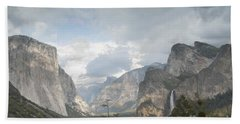 Yosemite National Park Hand Towel by Juli Scalzi