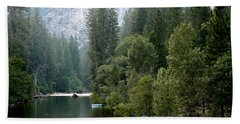 Hand Towel featuring the photograph Yosemite National Park by Laurel Powell