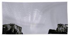 Yosemite National Park Hand Towel by Shaun Higson