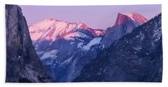 Yosemite Valley Panorama Bath Towel