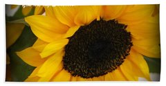 You Are My Sunshine - Greeting Card Hand Towel by Dora Sofia Caputo Photographic Art and Design