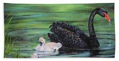 You Comin'--black Swan Bath Towel