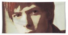 Young Bowie Pop Art Bath Towel