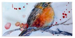 Young Robin Hand Towel