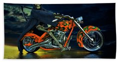 Bath Towel featuring the photograph Your Ride Awaits by Steven Agius