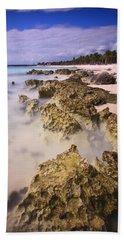 Yucatan Coastline Bath Towel