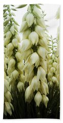 Bath Towel featuring the photograph Yucca Forest by Steven Milner
