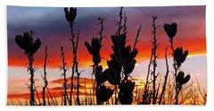 Yucca Sunset Hand Towel