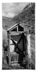 Yukon Alaska Outhouse Hand Towel