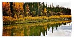 Yukon Autumn Bath Towel