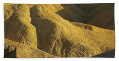 Zabriski Point #4 Hand Towel by Stuart Litoff