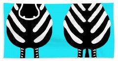 Zebra - Both Ends Hand Towel