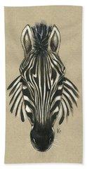 Zebra Front Hand Towel
