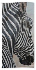Zebra Look Bath Towel