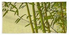 Zen Bamboo Abstract I Bath Towel
