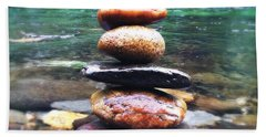 Zen Stones II Bath Towel