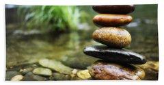 Zen Stones Bath Towel