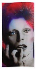 Ziggy Stardust Hand Towel