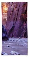 Zion Narrows Hand Towel