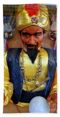 Hand Towel featuring the photograph Zoltar by Ed Weidman