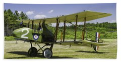 1916 Royal Aircraft F.e.8 World War One Airplane Photo Poster Print Bath Towel by Keith Webber Jr