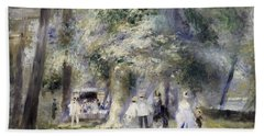 In The Park At Saint-cloud Bath Towel