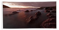 Manorbier Dusk Bath Towel