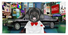 Sir Cuba Of Chelsea In Times Square Nyc Bath Towel