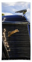Hand Towel featuring the photograph 1937 Ford Model 78 Cabriolet Convertible By Darrin by Gordon Dean II