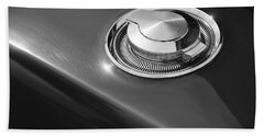 Hand Towel featuring the photograph 1968 Dodge Charger Fuel Cap by Gordon Dean II