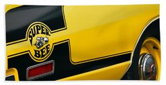 Hand Towel featuring the photograph 1970 Dodge Coronet Super Bee by Gordon Dean II