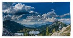 Above Castle Lake Hand Towel