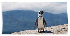 African Penguin Hand Towel