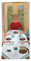 Afternoon Coffee Hand Towel