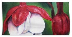 Bath Towel featuring the painting Big Bold And Beautiful by Lori Brackett