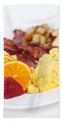 Breakfast  Bath Towel