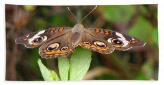 Buckeye Butterfly Hand Towel