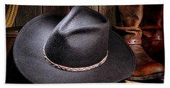 Cowboy Hat Hand Towel