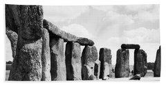 England: Stonehenge Bath Towel