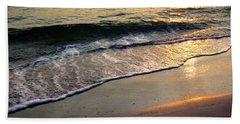 Gentle Tide Bath Towel by Angela Rath