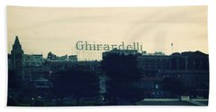 Ghirardelli Square Bath Towel