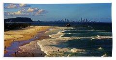 Gold Coast Beaches Hand Towel