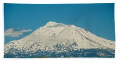 Mount Shasta Bath Towel