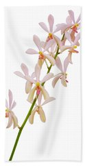 Bath Towel featuring the photograph Orchid Panicle by Atiketta Sangasaeng