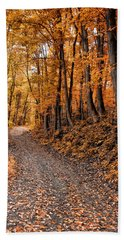 Ramble On Hand Towel by Bill Cannon